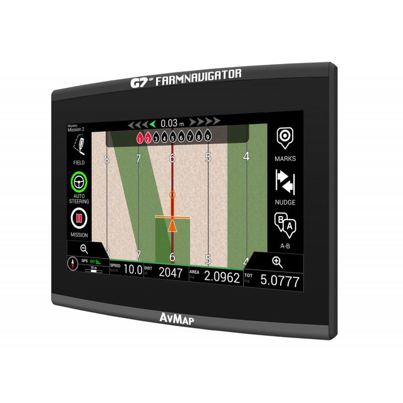 Навигационная система параллельного вождения Farmnavigator AvMap G7 Ezy, системы GPS мониторинга - изображение 1