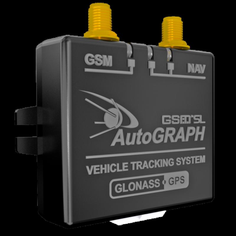 ТРЕКЕР АВТОГРАФ-SL (ГЛОНАСС / GPS), системы GPS мониторинга - изображение 1