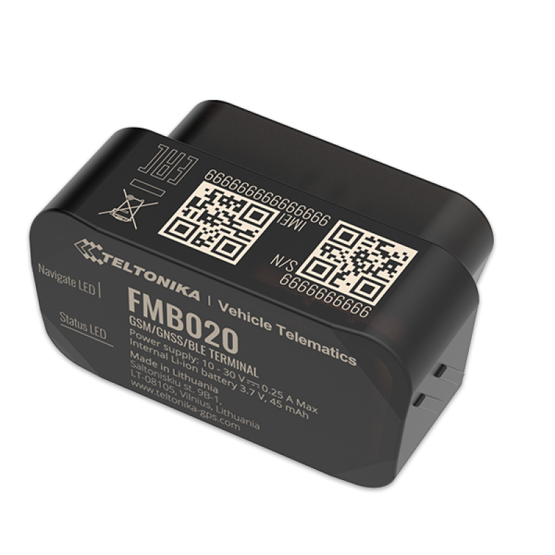 GPS трекер Teltonika FMB 020, системы GPS мониторинга - изображение 1