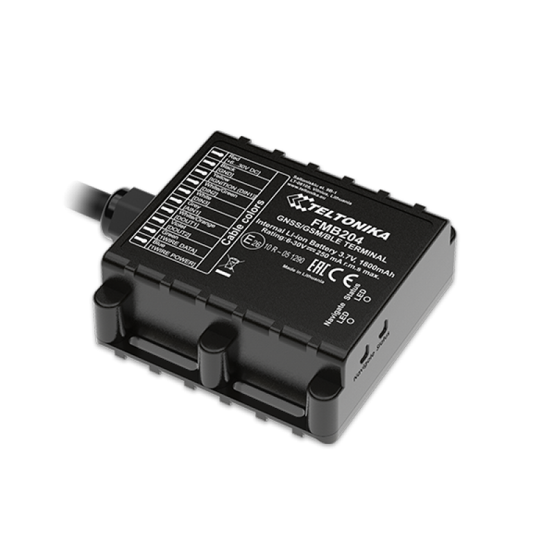 GPS трекер Teltonika FMB204, системы GPS мониторинга - изображение 1