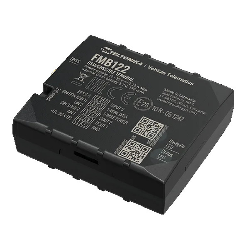 GPS трекер Teltonika FMB122, системы GPS мониторинга - изображение 1
