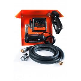 Gamma AC-45 - мобильная заправочная станция для дизельного топлива с расходомером / Автоматический пистолет