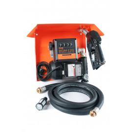Gamma AC-70 – стационарная мини колонка для дизельного топлива с расходомером / Автоматический пистолет