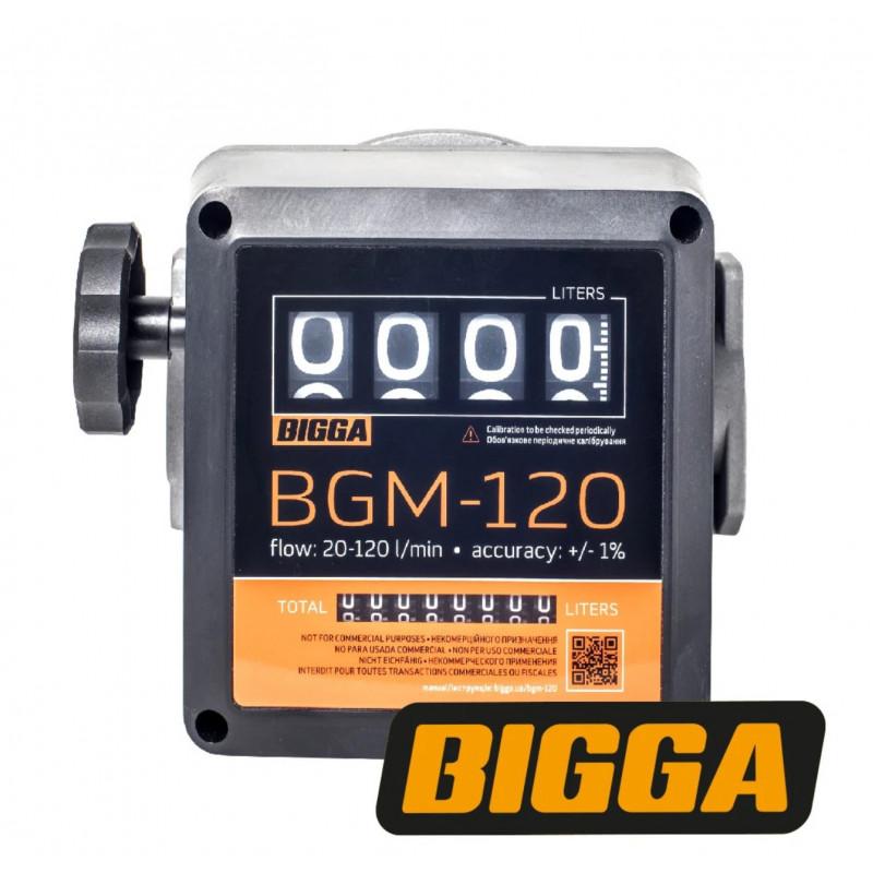 BGM-120 - счетчик учета дизельного топлива / Механический, системы GPS мониторинга - изображение 1